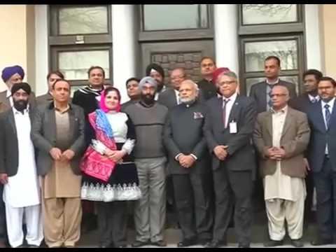 Afghanistan: PM Modi met Indian embassy officials