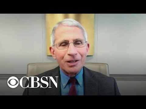 """Fauci warns of complacency, not to """"take comfort"""" in declining coronavirus death rate"""