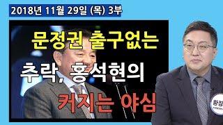 3부 문정권 출구없는 추락과 홍석현 계획과 야심?   [정치분석] (2018.11.29)
