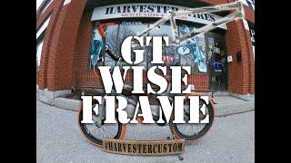 gT Rob Wise V2 Signature Frame Build @ Harvester Bikes