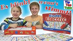 Kinder Electric Lern Spielzeug erste Klasse Rechnen Lesen Noris Spiele Zuschauer Grüße Kinderkanal