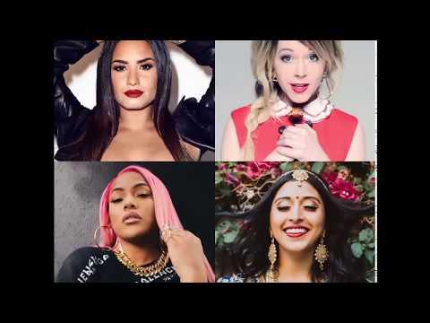 Instructional Mirage (Mashup) - Demi Lovato, Stefflon Don, Lindsey Stirling, Raja Kumari
