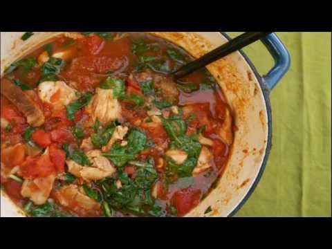 Italian Chicken & Rosemary Stew