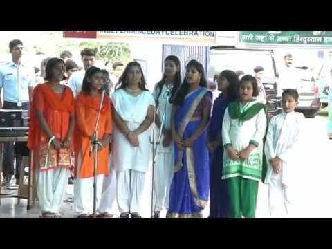 SONG - JHANDA UNCHA RAHE HAMARA BY NO 5 KENDRIYA VIDAYALAYA STUDENTS OF DARJIPURA ON (15- 08 -16)