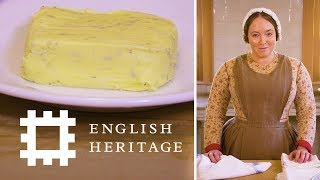 How to Make Butter  The Victorian Way