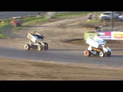 Dacotah Speedway Sprint Car Heats (Governor's Cup Night #2) (7/30/16)
