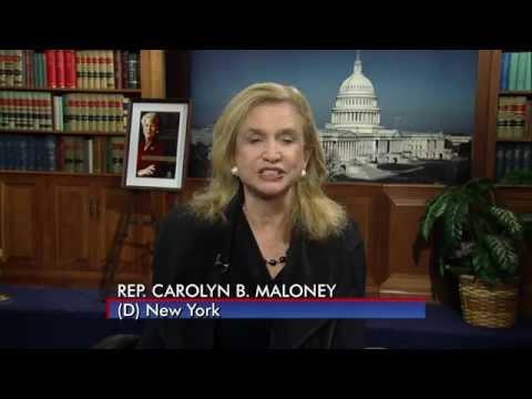 Carolyn Maloney #BecauseOfHer