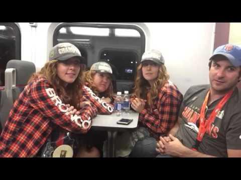 Broncos Fans On Train Talk Super Bowl 50 #SB50