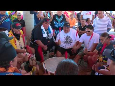 Mystic River - White Shield Powwow 2015