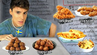 I Tested &#39COPYCAT&#39 Recipes Leaked by EX-EMPLOYEES Part 2