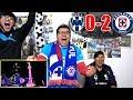 ¡CRUZ AZUL CAMPEÓN! REACCIONES MONTERREY VS CRUZ AZUL 0-2