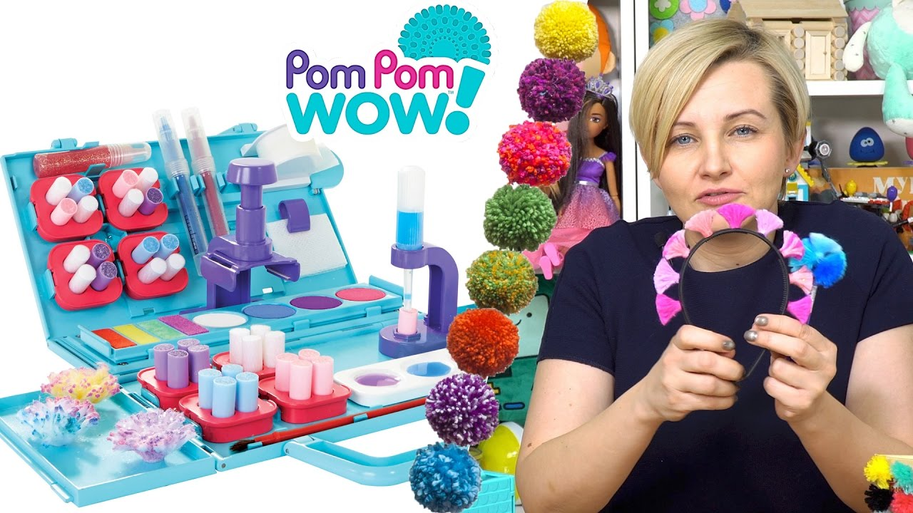 Pom Pom Wow Kolorowe Pompony Do Ozdabiania Tm Toys