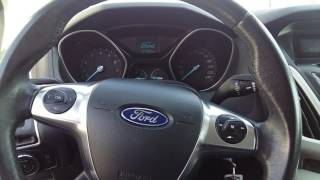 Ford focus 2012 starter problem