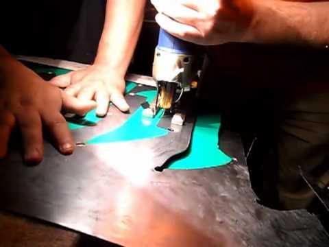 como hacer letras metalicas de lamina, parte 1.mp4