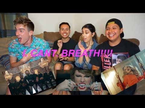 Taylor Swift - Look What You Made Me Do Music Video {REACTION}