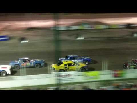 Lincoln County Raceway Championship Feature Race for Hobby Stocks