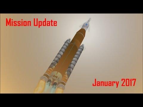 Mars Mission Update: January 2017