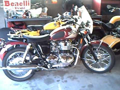 2008 triumph bonneville t100 - youtube