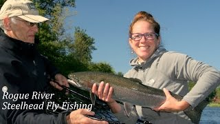 rogue river steelhead fly fishing katie s first