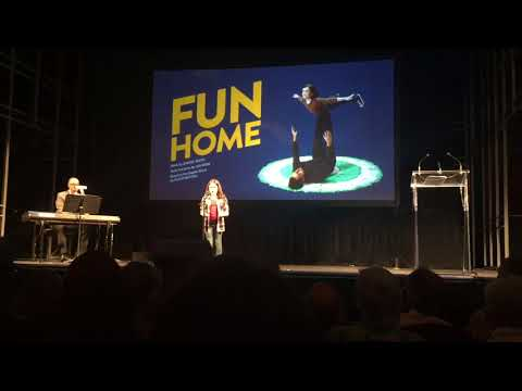 Fun Home's 'Ring of Keys' performed by Hannah Levinson at the Mirvish 2017/18 Season Preview