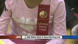 Red Ribbon Week to Keep Kids Drug Free