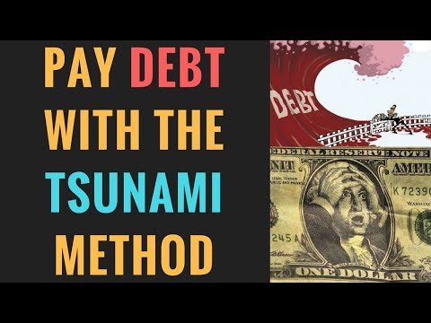 How to Pay off Debt With the Debt Tsunami Method
