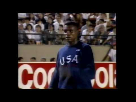 3643 World Track & Field 1991 Long Jump Mike Powell