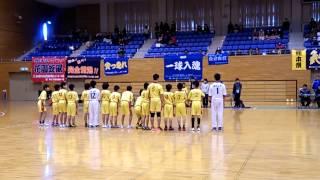 第10回熊本県ハンドボール協会長旗争奪小学生大会 決勝戦選手紹介20150208
