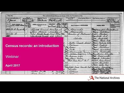 Census records: an introduction
