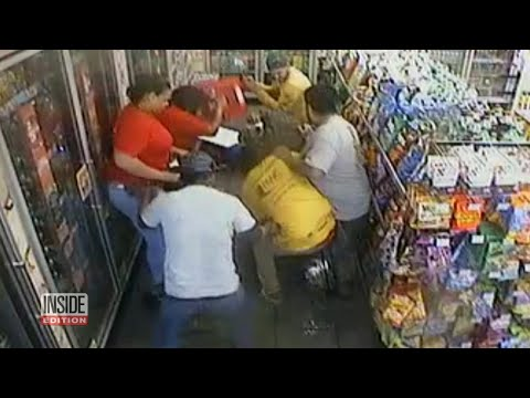 Customers Bravely Tackle Suspect During Hostage Situation