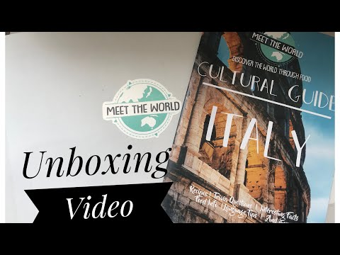 Unboxing - Meet The World ( Food Subscription )!