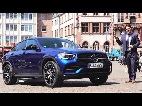 2020 Mercedes GLC Coupe AMG  - NEW Full Drive Review GLC300 4MATIC + Interior Exterior Infotainment