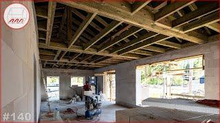 Строим одноэтажный дом 8*18 из газобетона на УШП в Елизаветинке