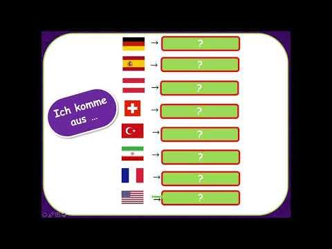 Menschen A1.1, Lektion 1 - Länder