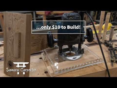 WOODWORKING JOINERY JIG! MORTISE AND TENON JOINTS IN MINUTES!!