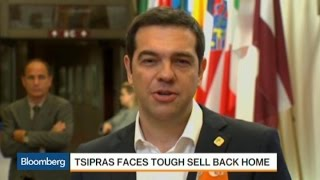 Can Tsipras Sell a Debt Deal to Greek Parliament?