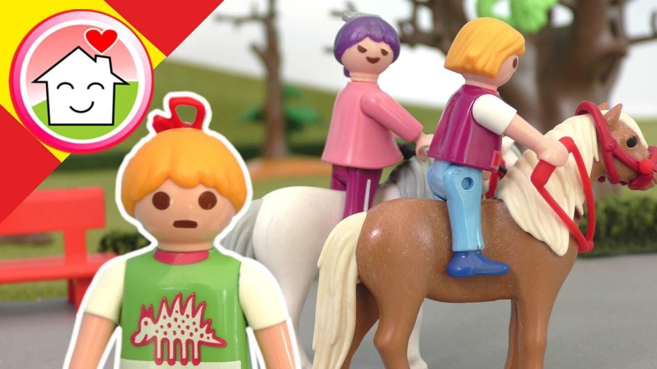 Playmobil en español Falsa amistad con Lena y Rosabella - La familia Hauser