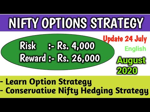 Nifty Options Strategy August 2020 Update English | Nifty Hedging Options Strategy