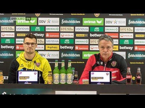 17. Spieltag | FCU - SGD | Pressekonferenz vor dem Spiel