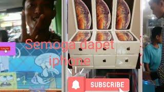 Gambar cover Semoga dapet iphone x reall mesin capit ps store - pertama kali di indonesia Dengan Trik Spongebob