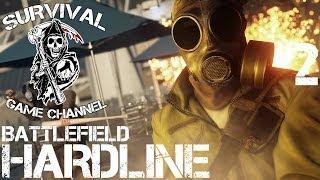 Battlefield: Hardline Beta На Русском #2 — В ПРОТИВОГАЗЕ