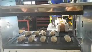 누룽지의 자동생산화. 미곡간이 해냅니다. 누룽지 과자공…