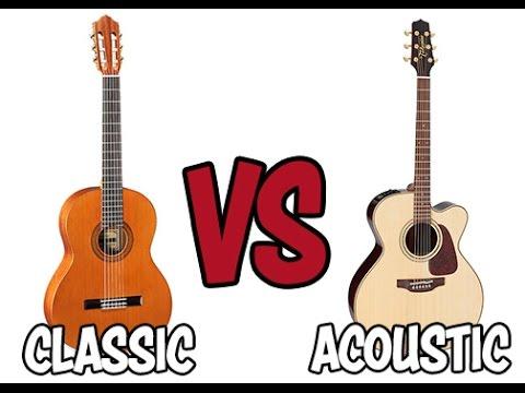[Guitar] Mua đàn Classic hay Acoustic???