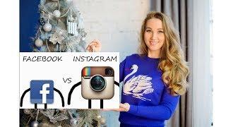Привязать Instagram к facebook с телефона Android