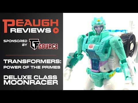 Video Review: Transformers: Power of the Primes - Deluxe MOONRACER