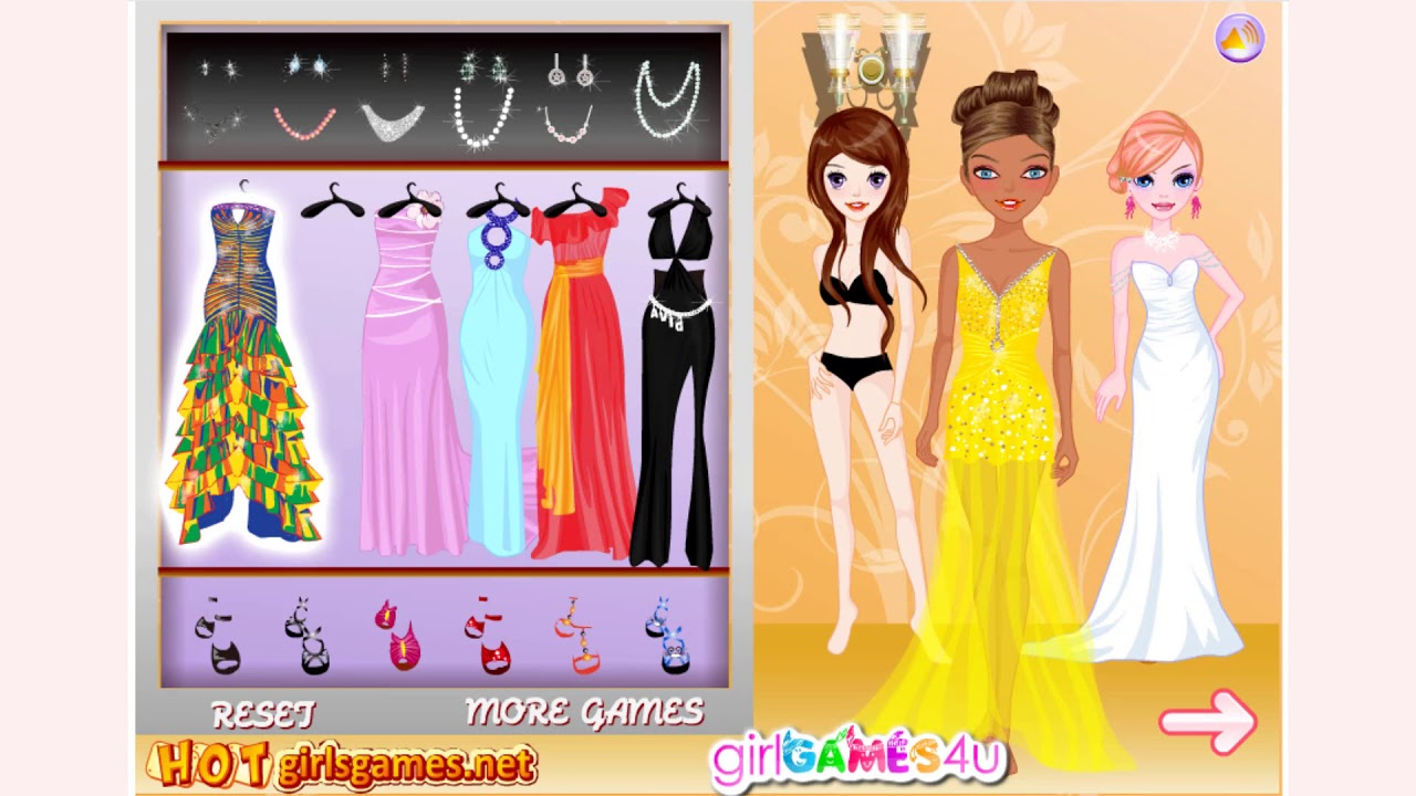 How To Play Pageant Queen Dress Up Game Free Online Games Mantigames Com Youtube