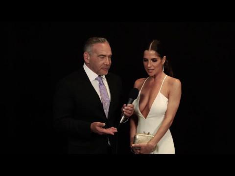 Michael Fairman interviews Kelly Monaco - 44th Annual Emmy