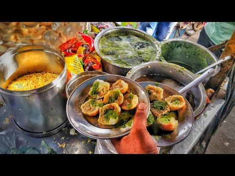 BUTTER PAPDI | ALOO CHAAT | SINDHI STREET FOOOD | INDIAN STREET FOOD