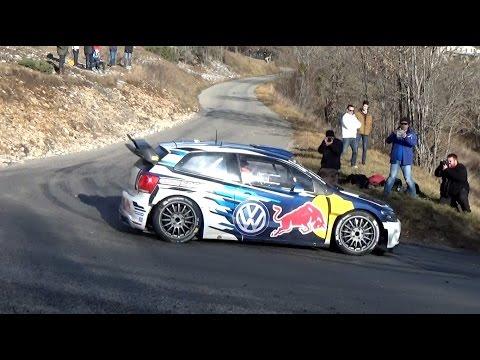Test Ogier Rallye Monte-Carlo 2016 [HD]
