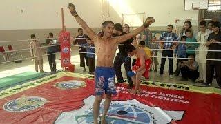 farid Mubariz vs hafiz nik zad MMA fight 2014 kabul afghanistan